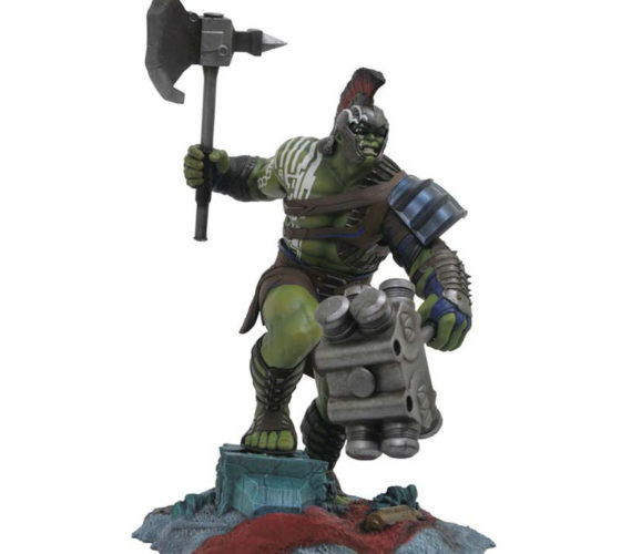 Statue Hulk Gladiator Marvel Premier Collection 30cm