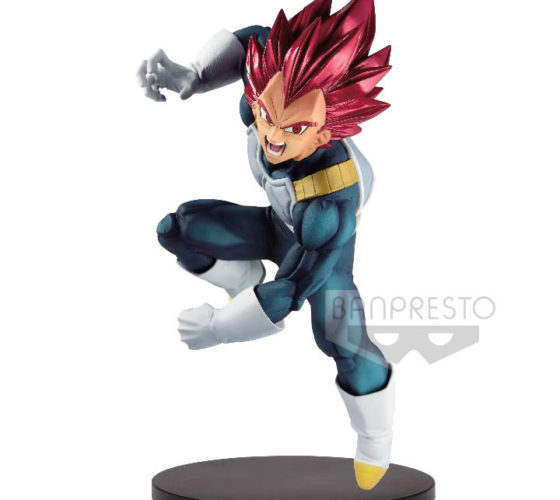 Figurine Super Saiyan God Vegeta Dragon Ball Super Bood of Saiyans Special VII 20cm