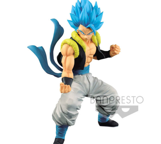 Figurine Super Saiyan God Super Saiyan Gogeta Dragon Ball Super Broly 18cm