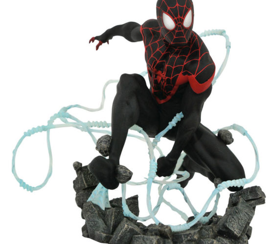 Résine Miles Morales Spiderman Marvel Comic Premier Collection 23 cm