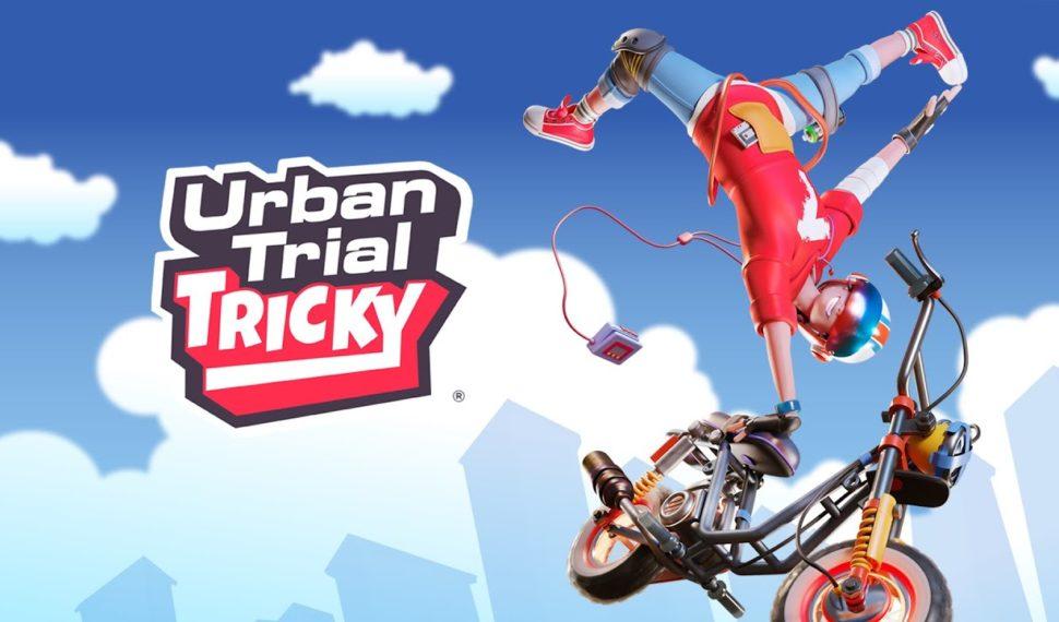 Urban Trial Tricky se dévoile dans un nouveau trailer sur Nintendo Switch !!