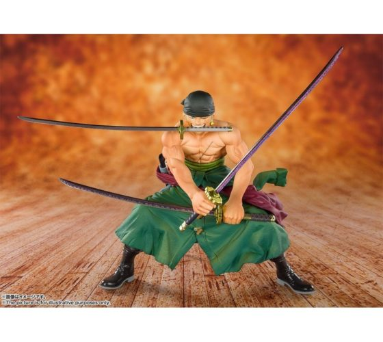FIGUARTS ZÉRO – PIRATE HUNTER ZORO – ONE PIECE