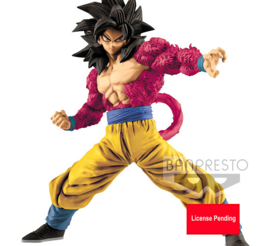 Figurine Full Scratch Super Saiyan 4 Son Goku Dragon Ball GT 18cm