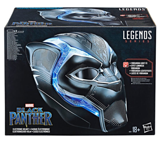 Casque Electronique Black Panther Marvel Legends