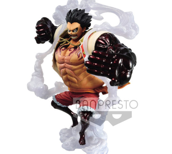 Figurine The Monkey D. Luffy King of Artist One Piece A 14cm