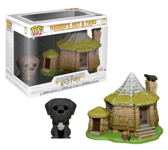 Funko Pop Harry Potter Hagrid's Hut with Fang