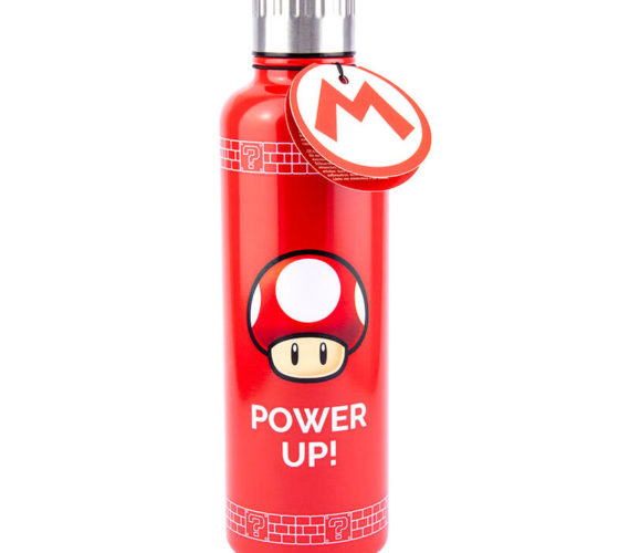 Bouteille Thermique Power Up Super Mario Nintendo 500ml