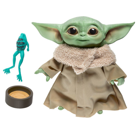Peluche Yoda The Child Star Wars avec son 19cm
