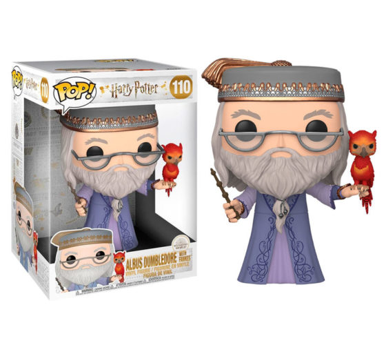 Funko POP Harry Potter Dumbledore with Fawkes 25cm