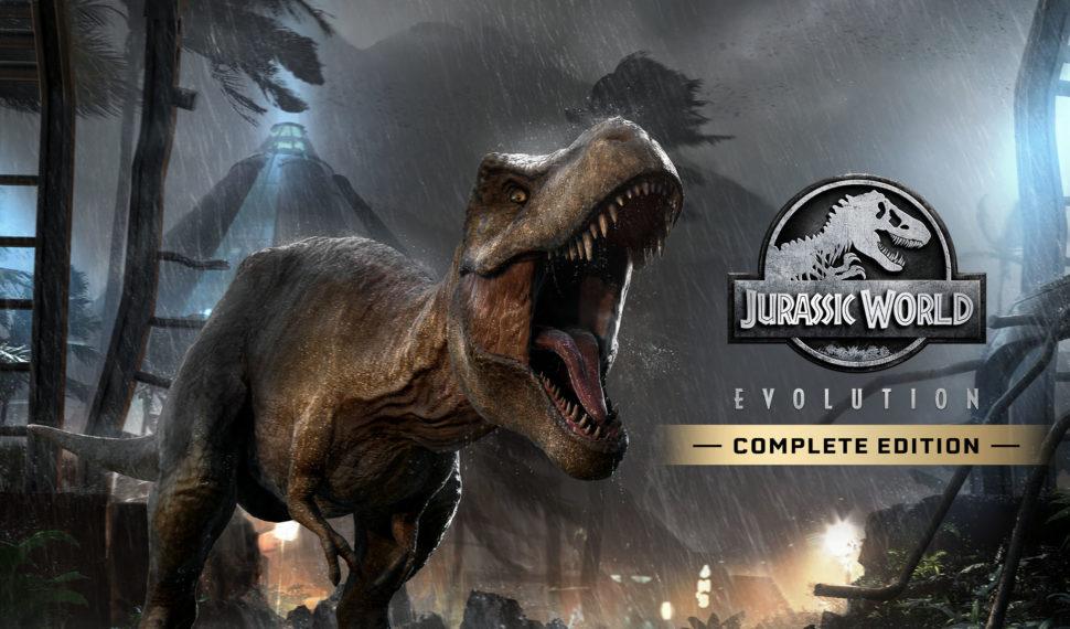 Jurassic World Evolution Complete Edition annoncé sur Nintendo Switch pour le 3 novembre