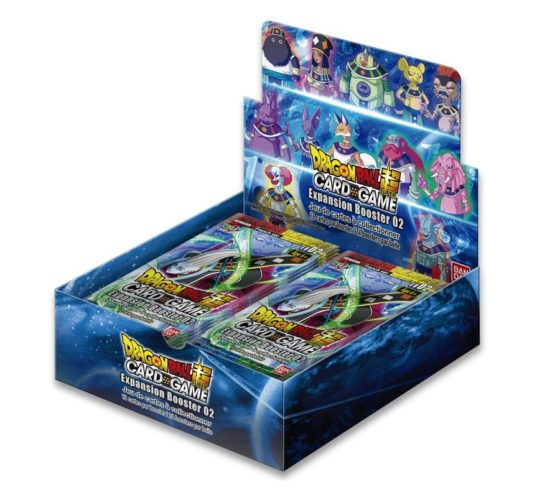 """JCC – BOOSTER """"EXPANSION SET 02"""" – EB02 – DRAGON BALL SUPER (FR) – (24 BOOSTERS)"""
