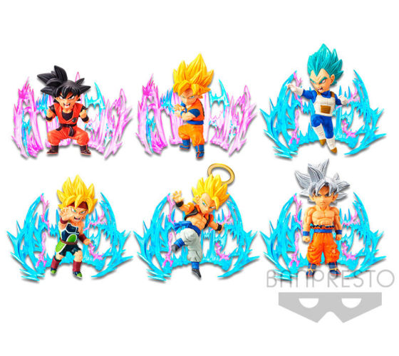 Figurines World Collectable Plus Effect Dragon Ball Super 7cm