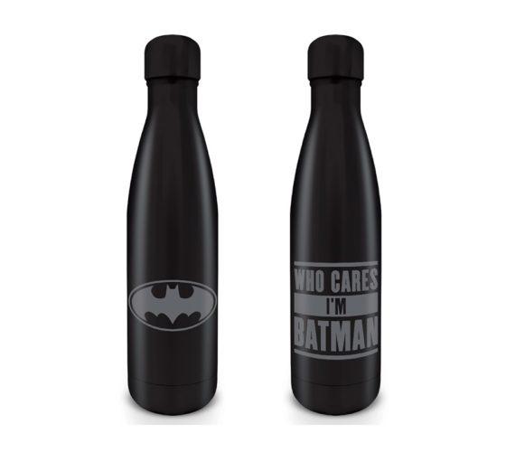 BOUTEILLE D'EAU EN ACIER – WHO CARES I'M BATMAN – BATMAN