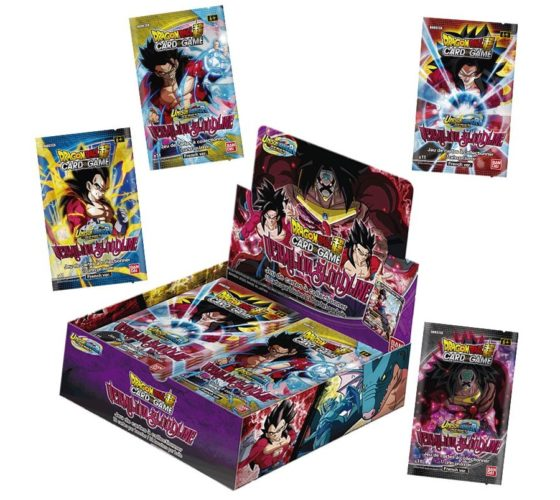 "JCC – BOOSTER SOUS BLISTER ""UNISON WARRIOR SERIE 02"" B11 – DRAGON BALL SUPER SERIE 11 (FR) – (24 BOOSTERS)"