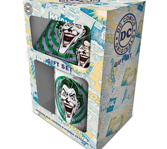 Pack Gift Mug + porte clé Joker DC Comics