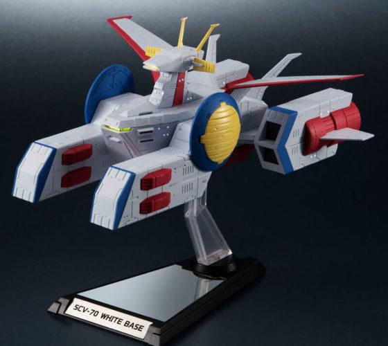 Figurine SCV-70 White Base Mobile Suit Gundam 15cm