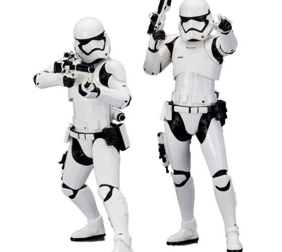 Set figurines Stormtrooper First Order Star Wars ArtFX+