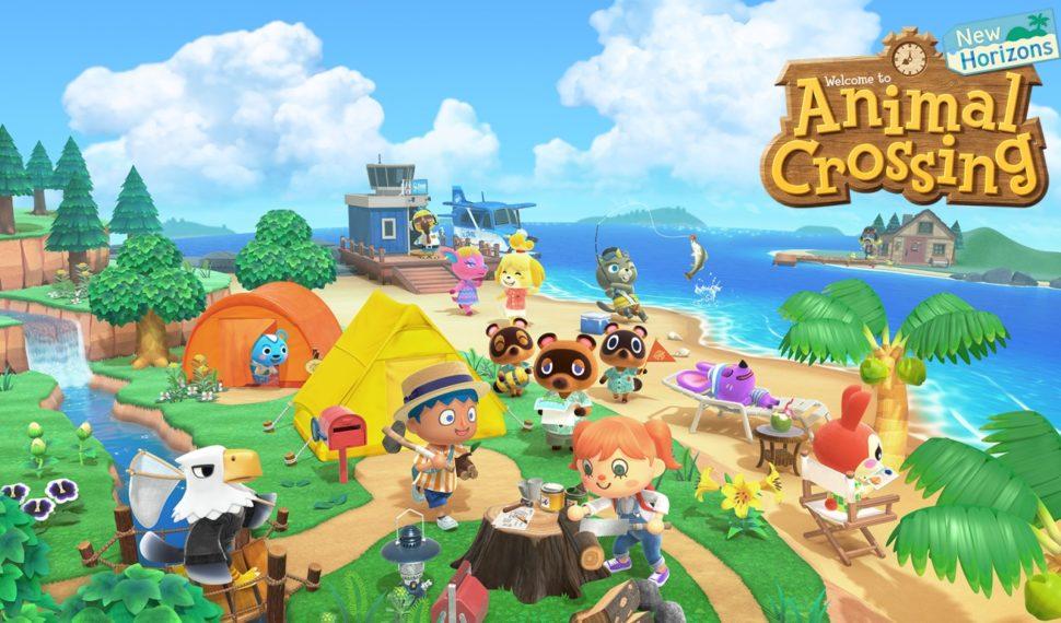 Animal Crossing New Horizons présente sa mise à jour d'hiver !!