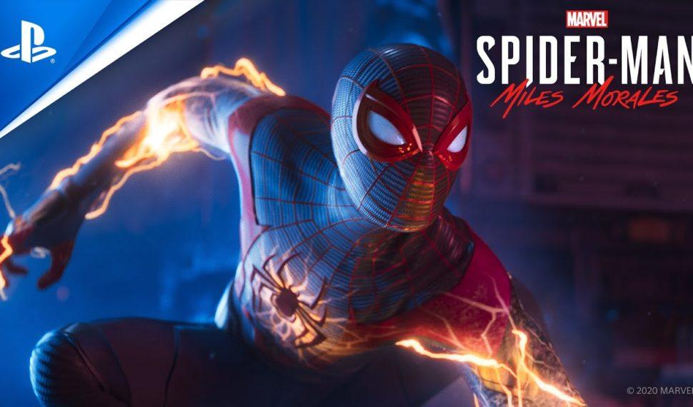 Premier spot TV impressionnant pour Spider-Man Miles Morales !!
