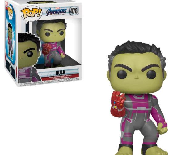 Figurine POP Marvel Avengers Endgame Hulk 15cm
