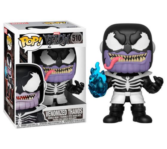 Figurine Funko POP Marvel Venom Venomized Thanos