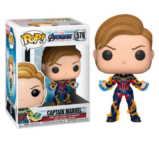 Figurine Funko POP Marvel Avengers Endgame Captain Marvel with New Hair