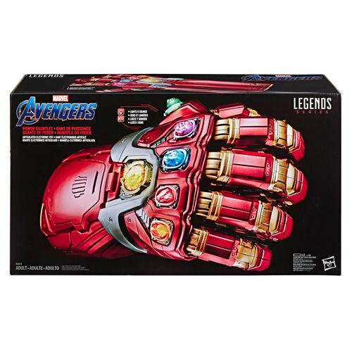 Gant de l'infinité électronique et articulé – Legends Series Avengers (Hasbro)