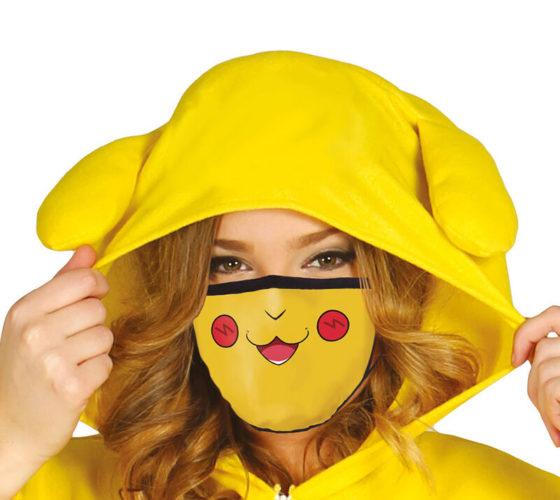 Masque de protection réutilisable Yellow