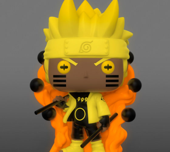 Pré commande Figurine POP Naruto Naruto Six Path Sage Glow