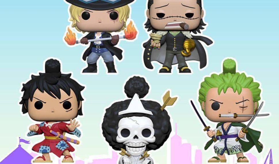 Derniers jours pour pré commander la nouvelle vague Funko Pop One Piece