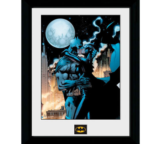 Tableau Moonlit Kiss Batman DC Comics 40x30cm