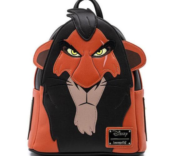 Sac à dos Scar Le roi lion Disney Loungefly