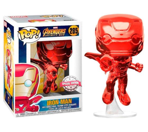 Figurine Funko POP Marvel Avengers Infinity War Iron Man Red Exclusive