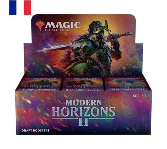 MTG – DRAFT BOOSTER MH2 – MODERN HORIZONS 2 – FR (Boîte de 36 Booster)