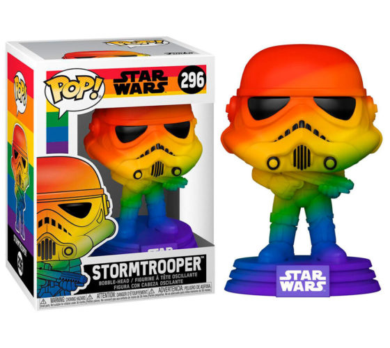 Figurine Funko POP Star Wars Pride Stormtrooper Rainbow