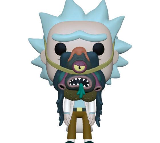 Figurine Funko Pop Rick and Morty Rick with Glorzo