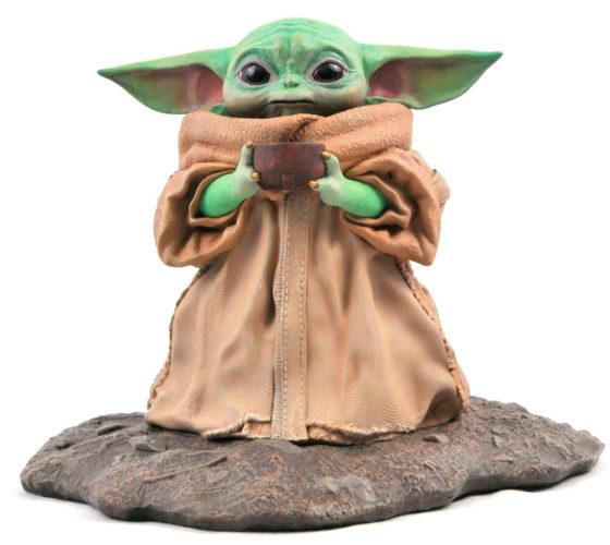 Statue Premier Collection The Child Soup The Mandalorian Star Wars 17cm