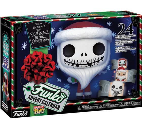 Calendrier de l'avent Disney The Nightmare before christmas Funko Pop