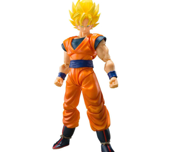 Figurine Son Goku Super Saiyan Full Power Dragon Ball Z 14cm S.H.Figuarts
