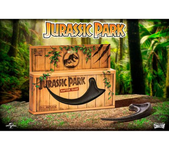 Réplique griffe de Raptor Jurassic Park
