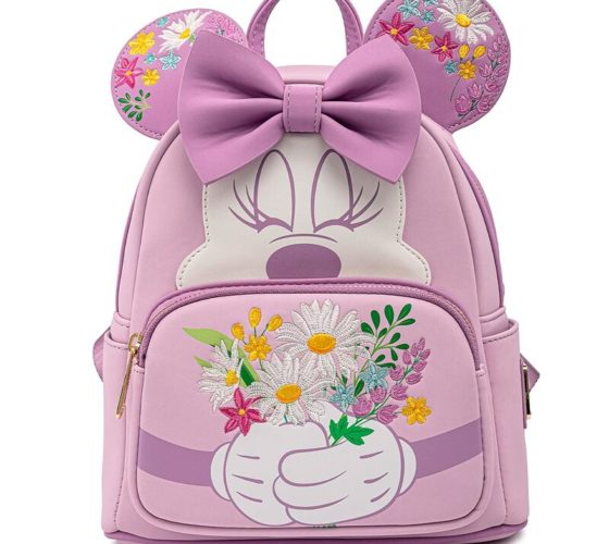 Sac à dos Holding Flowers Minnie Disney Loungefly 26cm