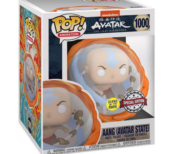 Figurine Funko POP Avatar Aang All Elements Glow in the Dark Exclusive