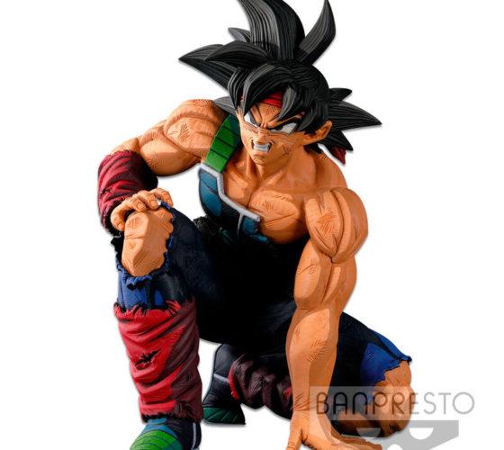 Figurine The Bardock Two Dimensions Dragon Ball Super Banpresto World Figure Colosseum 3 Super Master Stars Piece 17cm