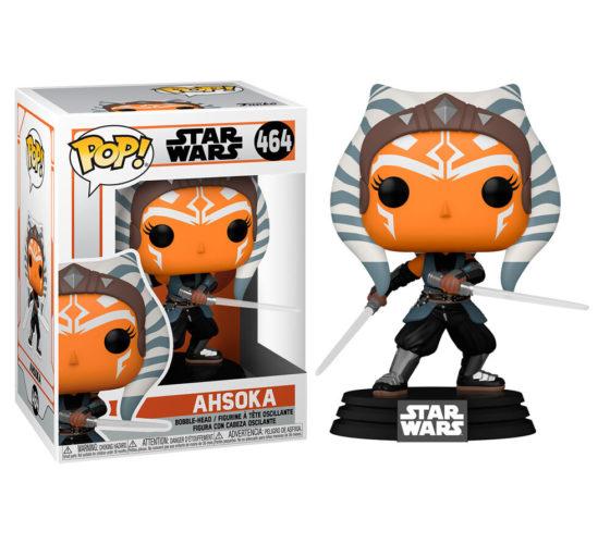 Figurine Funko POP Star Wars Mandalorian Ahsoka with Sabers